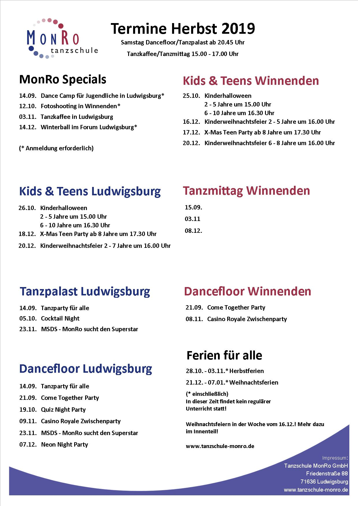Events gesamt homepage